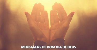 Mensagem de bom dia de Deus